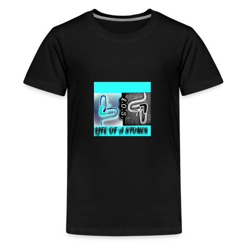 Life of a stoner - Kids' Premium T-Shirt