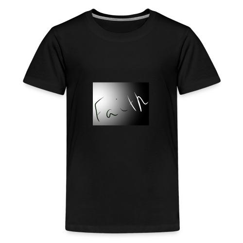 Faith - Kids' Premium T-Shirt