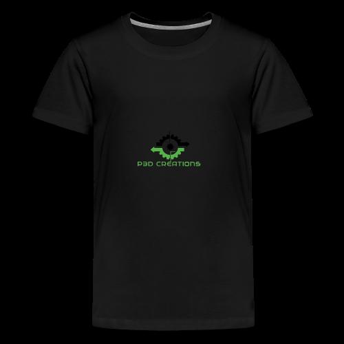 P3D Creations Logo - Kids' Premium T-Shirt