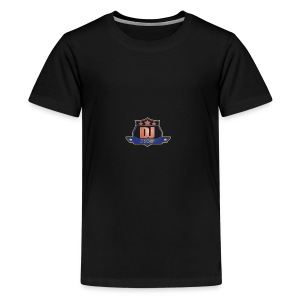 DJ_J_Soup_Blue - Kids' Premium T-Shirt