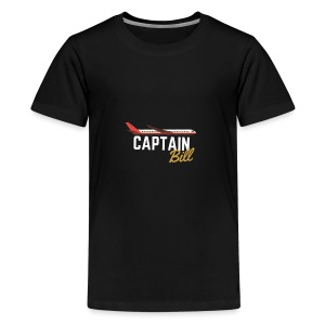Captain Bill Avaition products - Kids' Premium T-Shirt