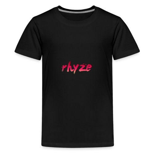 Rhyze Lettering - Kids' Premium T-Shirt