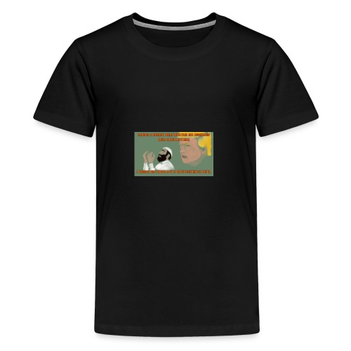Aggression never solved anything - Kids' Premium T-Shirt
