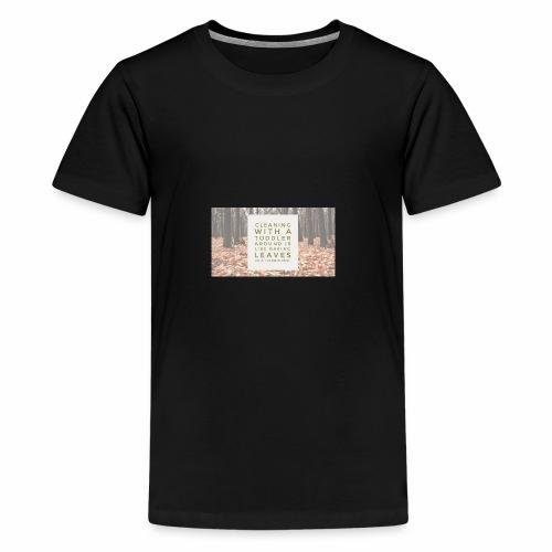 CleanLeaves - Kids' Premium T-Shirt