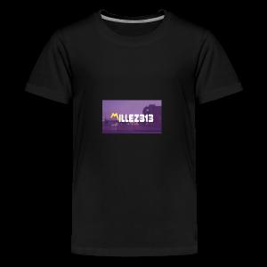 Millez313 with background Tee - Kids' Premium T-Shirt