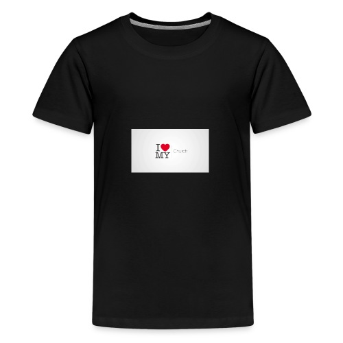 I love church - Kids' Premium T-Shirt