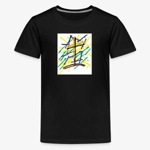 Criss Cross - Kids' Premium T-Shirt