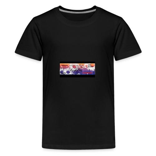 Channel_Art_Template_-Fireworks-_-_Edited - Kids' Premium T-Shirt