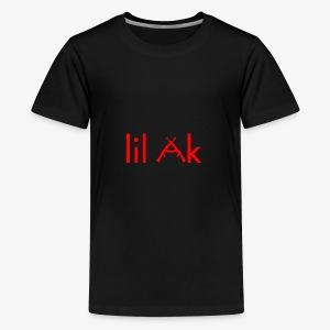 Lil AK Gun Logo - Kids' Premium T-Shirt
