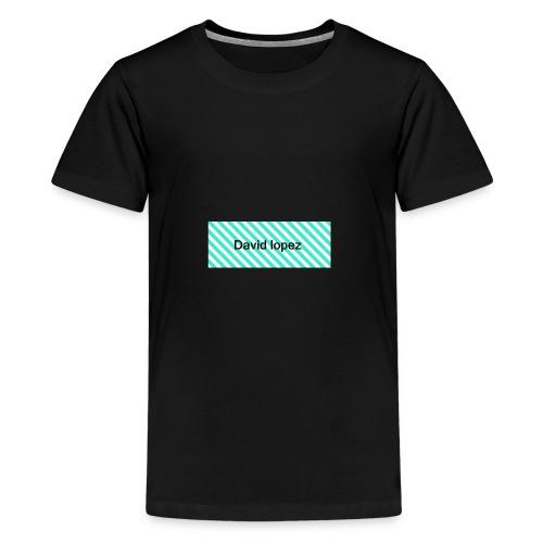 graphics CKI horizontal stripes7467 CMYK - Kids' Premium T-Shirt