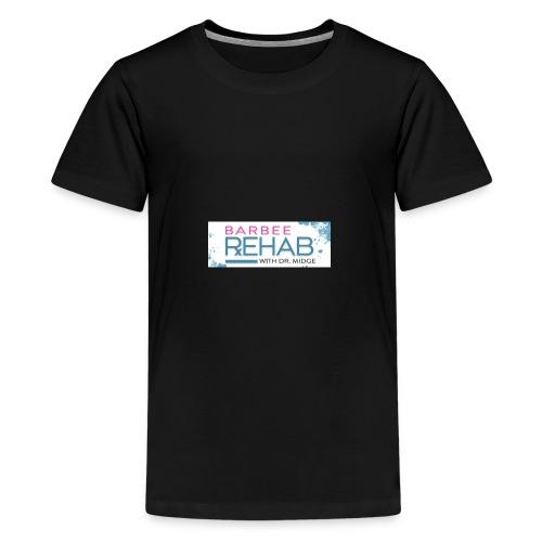 barbeerehabpink - Kids' Premium T-Shirt