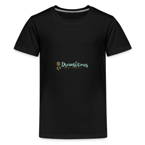 Dreambitious-Dynasty-Logo-MintGold_-1- - Kids' Premium T-Shirt