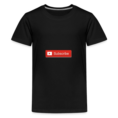 youtube_subscribe_button - Kids' Premium T-Shirt