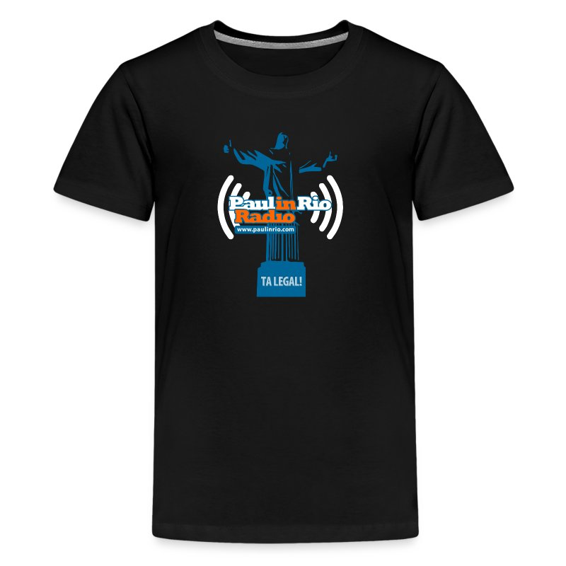 Paul in Rio Radio - The Thumbs up Corcovado #2 - Kids' Premium T-Shirt