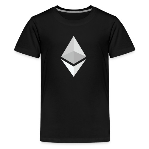 Ethereum Logo Light - Kids' Premium T-Shirt