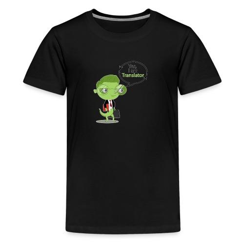 Translator Chameleon - Kids' Premium T-Shirt