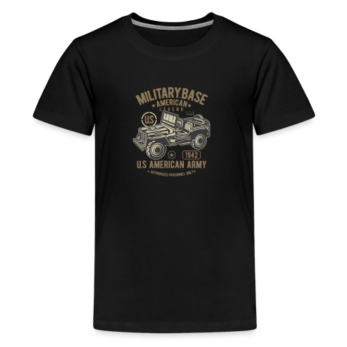 JEEP AMERICAN ARMY - Kids' Premium T-Shirt