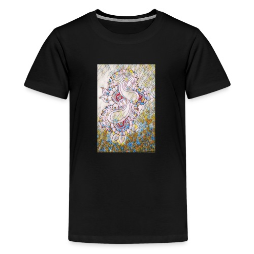 Henna glass - Kids' Premium T-Shirt