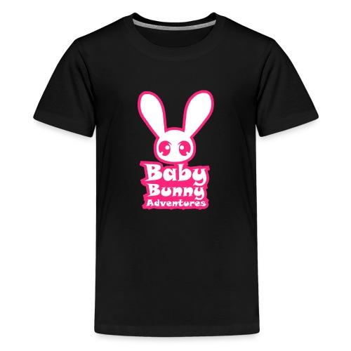 babybunnyadventureslogo - Kids' Premium T-Shirt