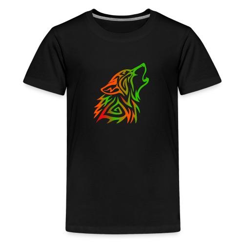 Howling Wolf - Kids' Premium T-Shirt