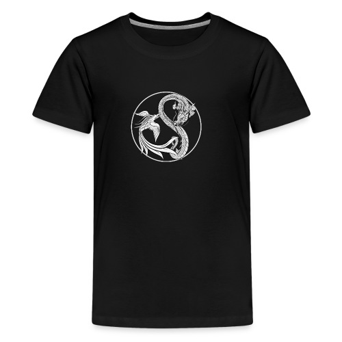 Phoenix vs Dragon Yin Yang - Kids' Premium T-Shirt