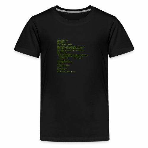 Python Code 1 - Kids' Premium T-Shirt