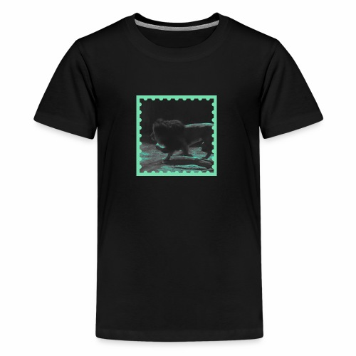 Lion on the prowl - Kids' Premium T-Shirt