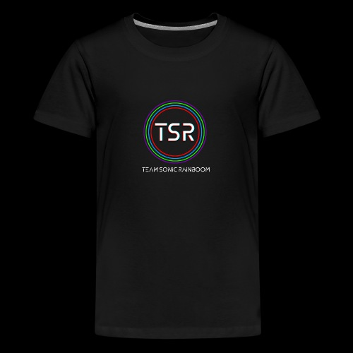 Team Sonic Rainboom Logo + Name - Kids' Premium T-Shirt