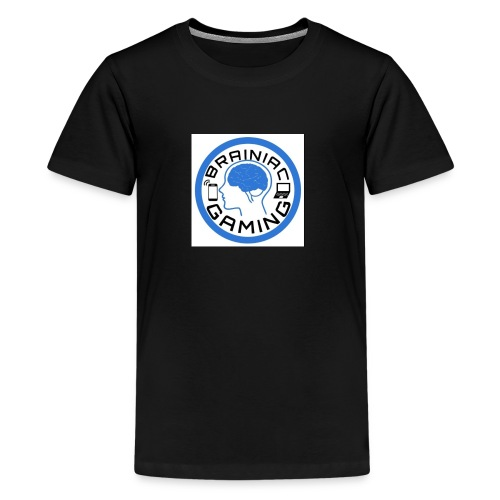 Brainiac Gaming Design - Kids' Premium T-Shirt