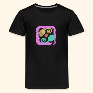 Floral Pastel - Kids' Premium T-Shirt