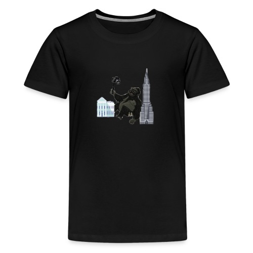 King Kong vloging - Kids' Premium T-Shirt