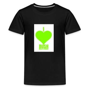 I Love Bush Music Records - Kids' Premium T-Shirt