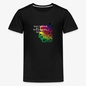 Get Inked - Rainbow Skull - Kids' Premium T-Shirt