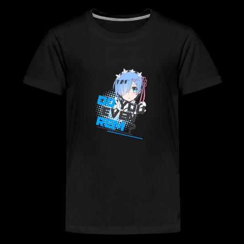Re;Zero#1 Do You Even Rem? - Kids' Premium T-Shirt