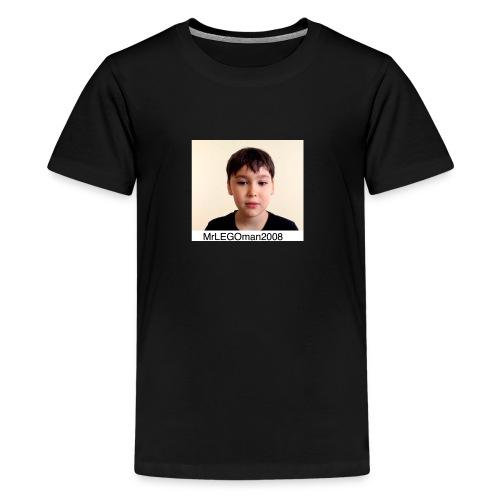 MrLEGOman2008 Face - Kids' Premium T-Shirt