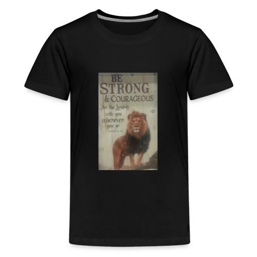 lion updates picture - Kids' Premium T-Shirt