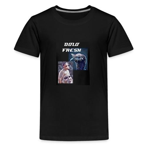 DOLO FRESH : Funky Blur - Kids' Premium T-Shirt