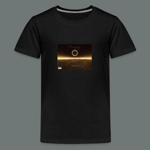 Dannysong Eclipse design Love's Not Dead - Kids' Premium T-Shirt