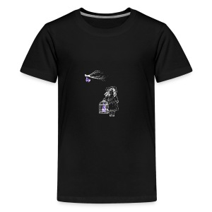 Caged Bat - Kids' Premium T-Shirt
