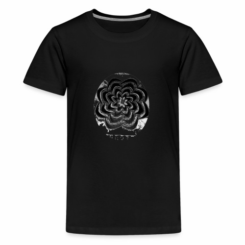 TRIBAL FLOWER - Kids' Premium T-Shirt
