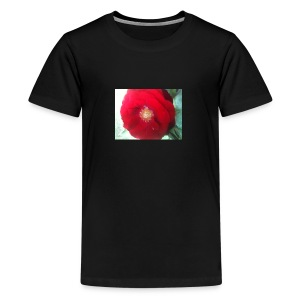 The red flower - Kids' Premium T-Shirt