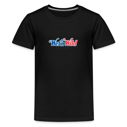 1200px Wet n Wild Orlando logo svgt - Kids' Premium T-Shirt