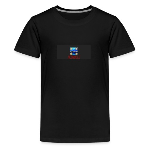 ItzRollie black, blue, and red. - Kids' Premium T-Shirt