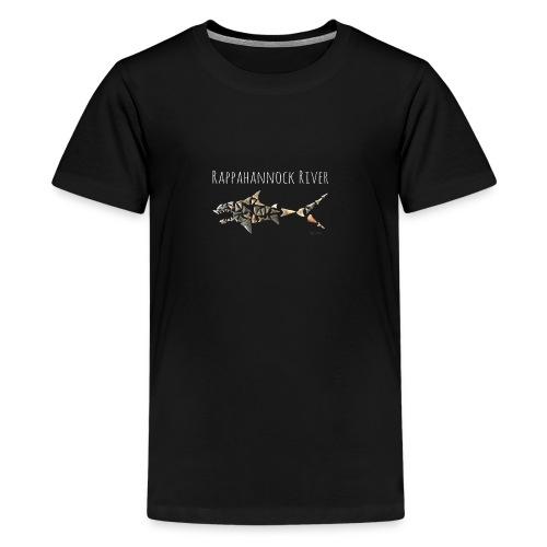 Rappahannock River Shark - Kids' Premium T-Shirt