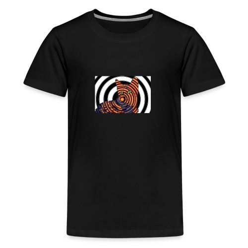Cat Spiral - Kids' Premium T-Shirt
