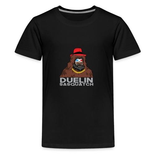 Duelin Sasquatch - Kids' Premium T-Shirt