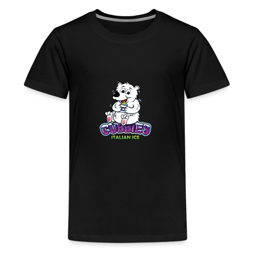 CubbiesItalianIce stacked RGB300 - Kids' Premium T-Shirt