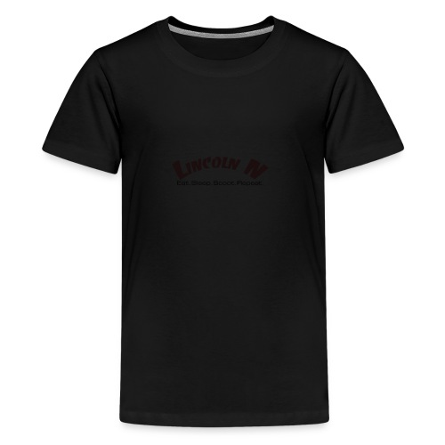 Lincon N HQ Final High Arc ThrasherBlack - Kids' Premium T-Shirt