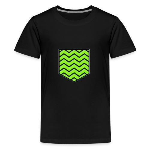 Geen stripe pocket - Kids' Premium T-Shirt