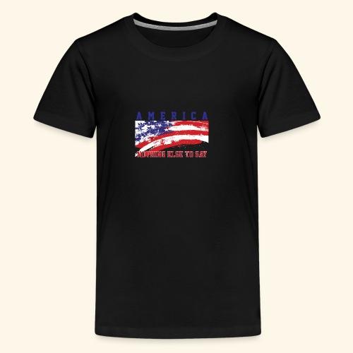 America1 - Kids' Premium T-Shirt